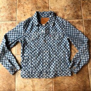 Levi's Checkered Denim Jacket